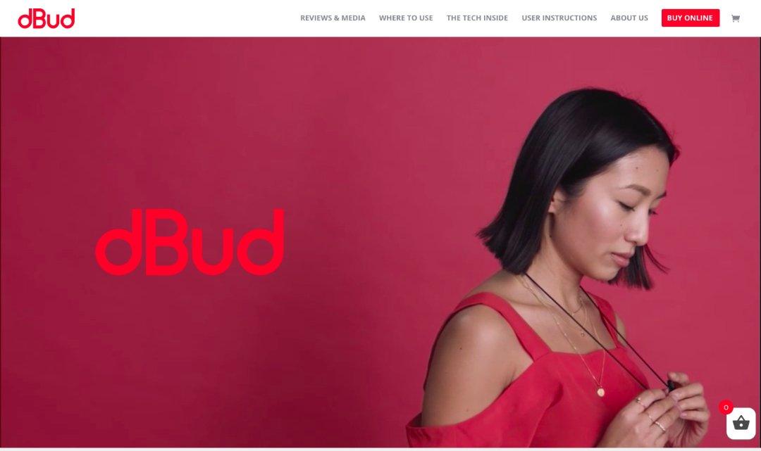 dBud - en sajt bygd i Divi