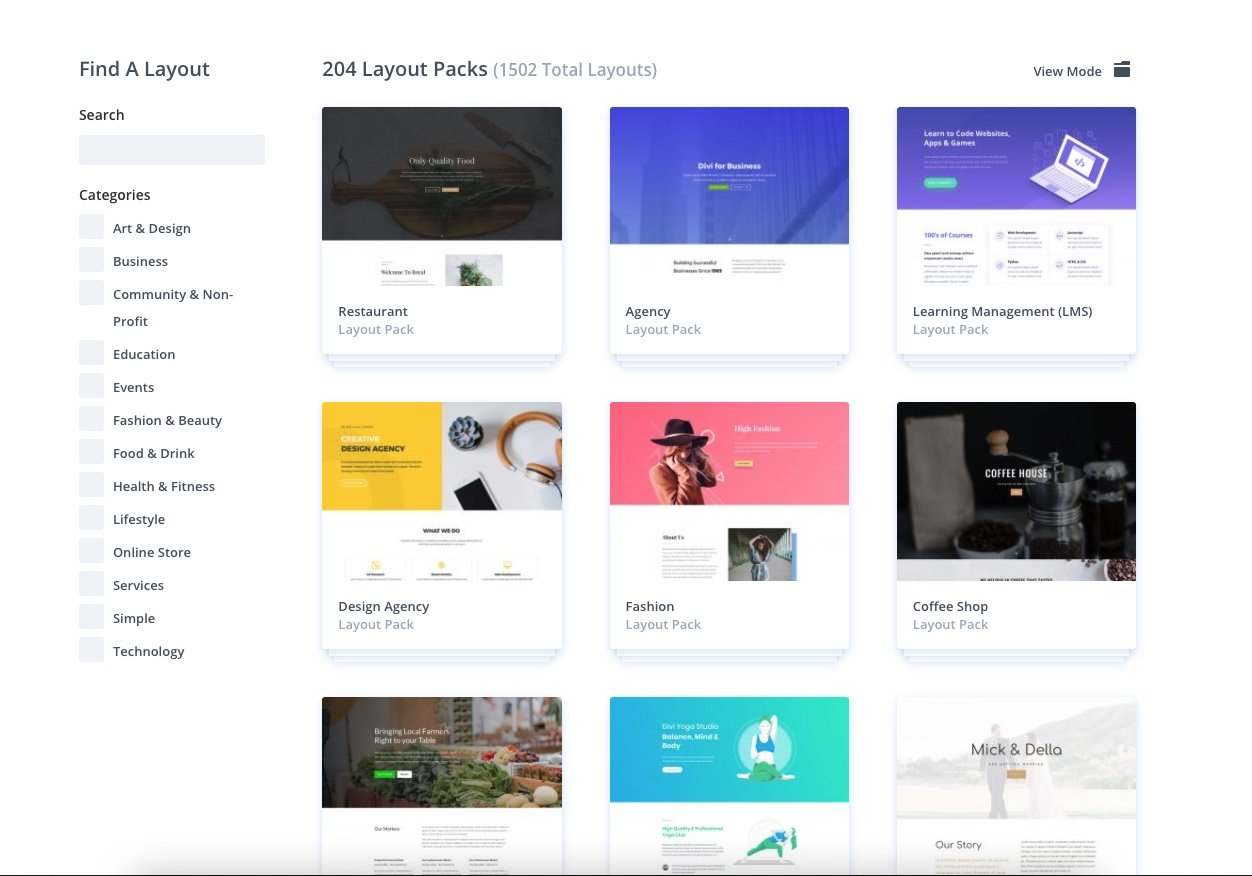Ladda ner färdig design till WordPress