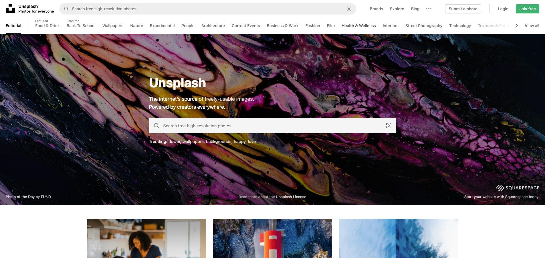 Snygga gratisbilder från Unsplash